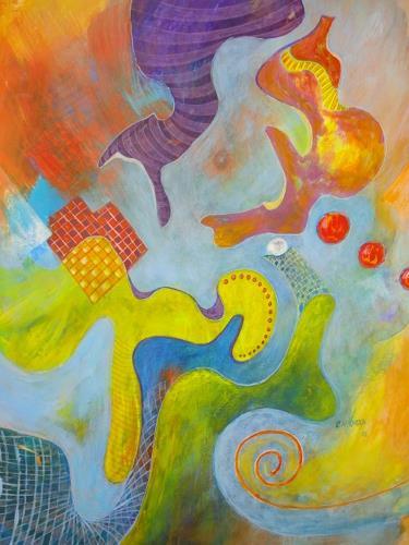 e.w. bregy, homo ludens, Fantasy, Abstract Art