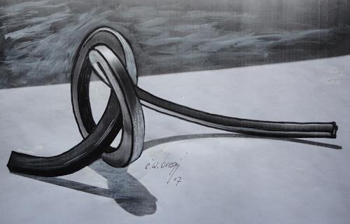 e.w. bregy, Modell für Eisenplastik, Fantasy, Contemporary Art