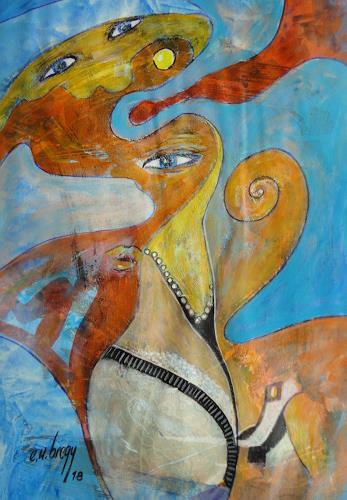 e.w. bregy, seelenlandschaften: seidenweich, Nude/Erotic motifs, Contemporary Art