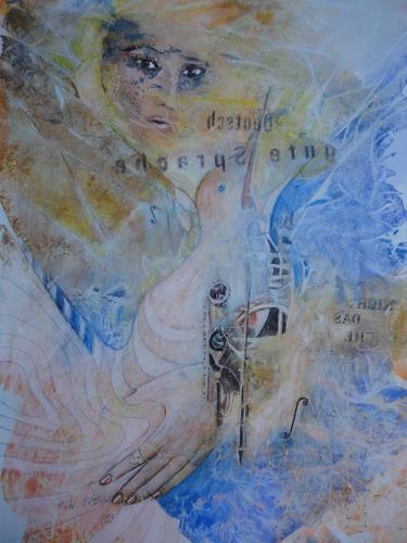 e.w. bregy, Hommage à R.M. Rilke: deutsch - gute sprache, Fantasy, Contemporary Art