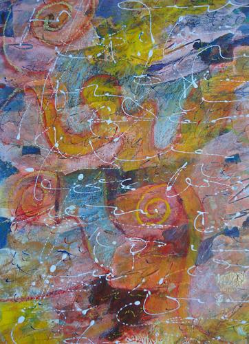 e.w. bregy, Hommage à R.M. Rilke: Herbsttag, Fantasy, Contemporary Art