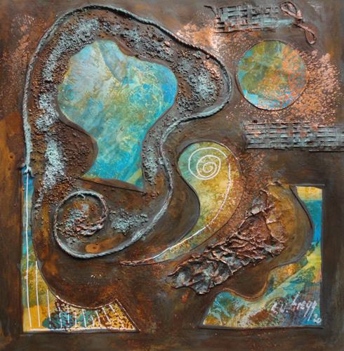e.w. bregy, rostARTig von A - Z, Fantasy, Contemporary Art, Expressionism