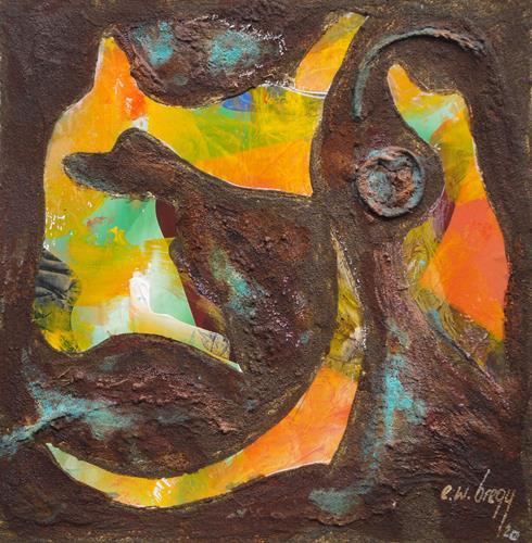 e.w. bregy, rostARTig von A - Z, Fantasy, Contemporary Art, Abstract Expressionism