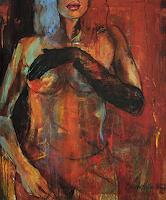Beate-Hildebrandt-Erotic-motifs-Female-nudes-People-Women-Contemporary-Art-Contemporary-Art