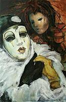 Beate-Hildebrandt-Carnival-People-Faces-Contemporary-Art-Contemporary-Art