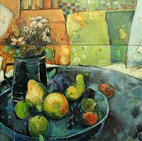 Beate-Hildebrandt-Meal-Still-life-Contemporary-Art-Contemporary-Art