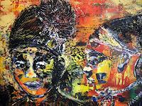 Brigitte-Raz-Goldau-Emotions-Safety-People-Faces-Contemporary-Art-Contemporary-Art