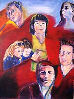 Brigitte-Raz-Goldau-People-Faces-Society-Contemporary-Art-Contemporary-Art