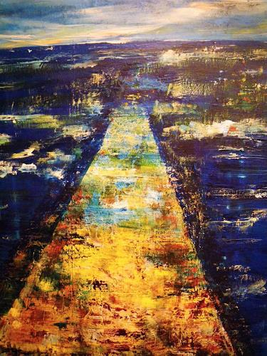 Brigitte Raz Goldau Art Leisure Landscapes: Sea/Ocean Contemporary Art