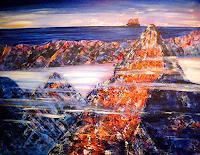 Brigitte-Raz-Goldau-Leisure-Landscapes-Mountains-Contemporary-Art-Contemporary-Art