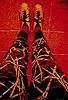 B. Raz-Goldau, Selbstporträt Hose und Schuhe