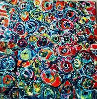 Brigitte-Raz-Goldau-Abstract-art-Meal-Contemporary-Art-Contemporary-Art