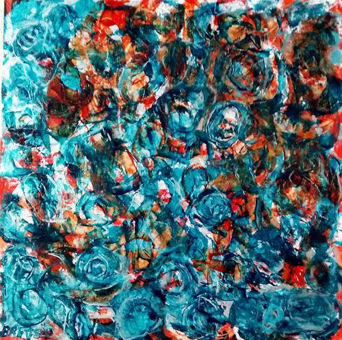 Brigitte Raz-Goldau, Aludosen 4, Abstract art, Leisure, Abstract Art, Abstract Expressionism