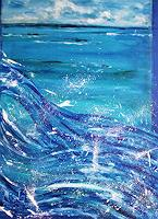 Brigitte-Raz-Goldau-Landscapes-Sea-Ocean-Emotions-Joy-Contemporary-Art-Contemporary-Art