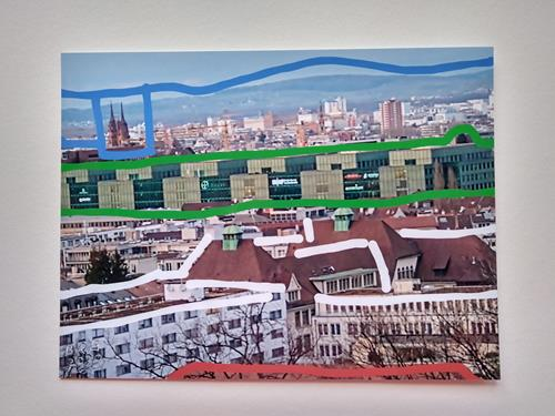 Brigitte Raz-Goldau, Urban landscapes Basel, The world of work, Landscapes: Winter, Contemporary Art