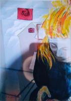Brigitte-Raz-Goldau-People-Women-Abstract-art-Modern-Age-Abstract-Art-Non-Objectivism--Informel-