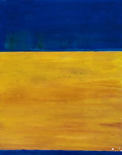 Brigitte Raz-Goldau, Freiheit, Abstract art, Emotions, Abstract Art
