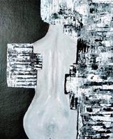 Brigitte-Raz-Goldau-People-Women-Abstract-art-Modern-Age-Abstract-Art