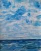 Brigitte Raz-Goldau, Wolken, Landscapes: Sea/Ocean, Abstract art, Abstract Art