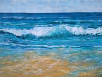 Brigitte-Raz-Goldau-Landscapes-Sea-Ocean-Landscapes-Beaches-Contemporary-Art-Contemporary-Art