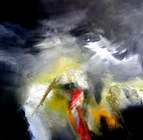 OMAR, Im Himmel ist die Hölle los / Deutsche Einheit  / 152, Abstract art, Abstract Expressionism
