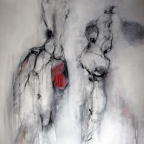 OMAR, O.T. / 268, Nude/Erotic motifs, Abstract Expressionism