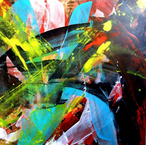 OMAR, O.T. / 293, Abstract art, Abstract Expressionism
