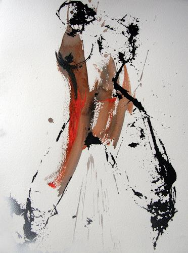 OMAR, SIE III / 295, Erotic motifs: Female nudes, Abstract Expressionism