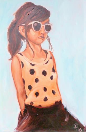Anne Petschuch, Sonnenbrille, People: Children, Miscellaneous Emotions, Realism
