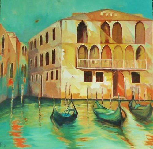 Anne Petschuch, Venice, Interiors: Cities, Architecture, Impressionism