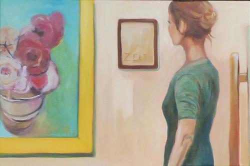 Anne Petschuch, KunstZeitRaum, People: Women, Leisure, Impressionism