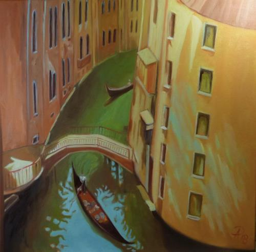 Anne Petschuch, Venice 03, Architecture, Interiors: Cities, Realism