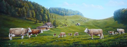 Antonio Molina, Original Simmentaler, Animals: Land, Expressionism