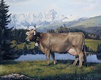 Antonio-Molina-Animals-Land-Landscapes-Mountains-Modern-Age-Naturalism