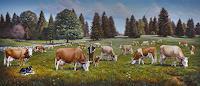 Antonio-Molina-Landscapes-Summer-Modern-Age-Naturalism