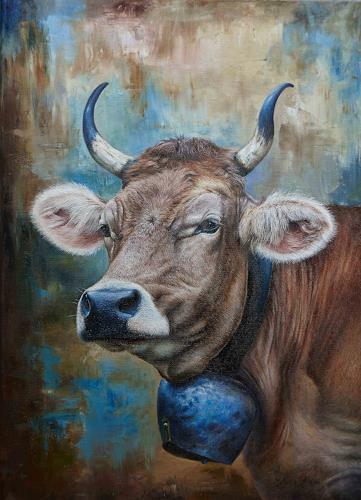 Antonio Molina, Rösli, Animals: Land, Abstract Art, Expressionism