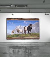 Antonio-Molina-Landscapes-Mountains-Animals-Land-Modern-Age-Abstract-Art