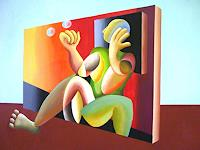 WALT-Abstract-art-Miscellaneous-People-Modern-Age-Others-New-Figurative-Art