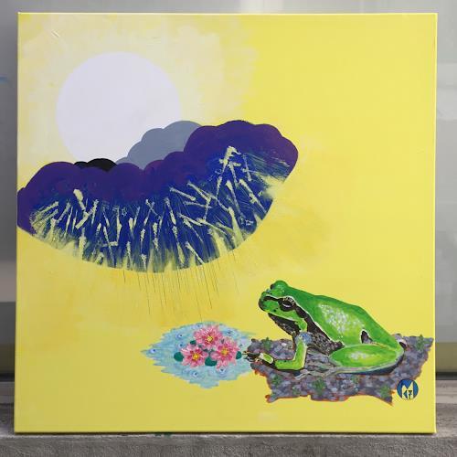 rudolf mettler, MISCHWETTERFROSCH, Animals, Contemporary Art