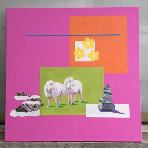 rudolf mettler, FRIEDLICH, Animals, Contemporary Art