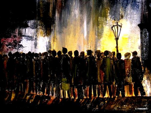 silvia messerli, die gaffer, Society, Abstract Expressionism