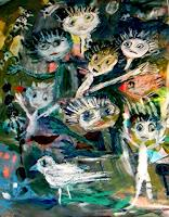 silvia-messerli-People-Group-Miscellaneous-People-Modern-Age-Abstract-Art-Art-Brut