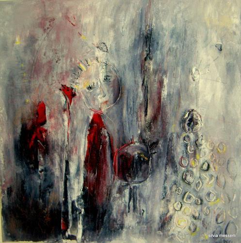 silvia messerli, la petite princesse dans la pluie, People, Poetry, Abstract Art, Abstract Expressionism