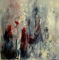 silvia messerli Art People Poetry Modern Age Abstract Art