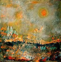 silvia messerli Art Nature: Miscellaneous Times: Spring Modern Age Expressionism Abstract Expressionism