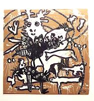 silvia-messerli-Animals-Land-Times-Winter-Modern-Age-Abstract-Art-Art-Brut