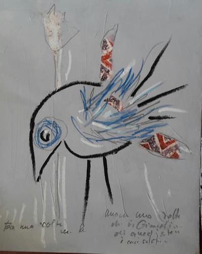silvia messerli, tanti auguri, Fantasy, Animals: Air, Art Brut, Expressionism