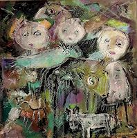 silvia-messerli-Emotions-Joy-People-Group-Contemporary-Art-Contemporary-Art