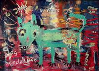 silvia-messerli-Animals-Land-Emotions-Love-Modern-Age-Abstract-Art-Art-Brut