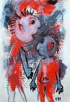 silvia-messerli-People-Couples-Emotions-Depression-Contemporary-Art-Contemporary-Art